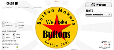 Button Design Software