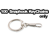 100 x Key Chain Snaphooks Only