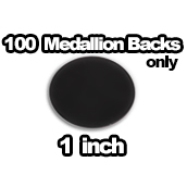 100 x Medallions Only 1 inch
