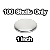 100 x Shells Only 1 inch