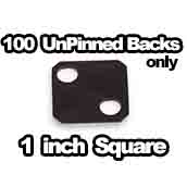 100 x Flatbacks Only 1 inch Square