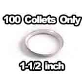 100 x Collets Only 1-1/4 inch