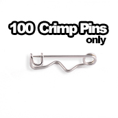 100 x Pins Only 1-1/4 in long