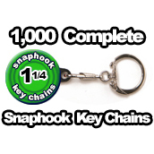 1,000 x Key Chain Snaphook Supplies 1-1/4 inch