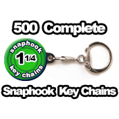 500 x Key Chain Snaphook Supplies 1-1/4 inch