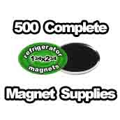 500 x Magnet Supplies Oval