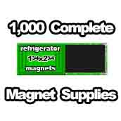 1,000 x Magnet Supplies 1-3/4x2-3/4