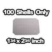 100 x Shells Only 1-3/4 x 2-3/4 inch