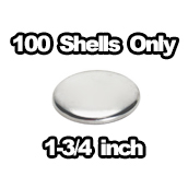 100 x Shells Only 1-3/4 inch