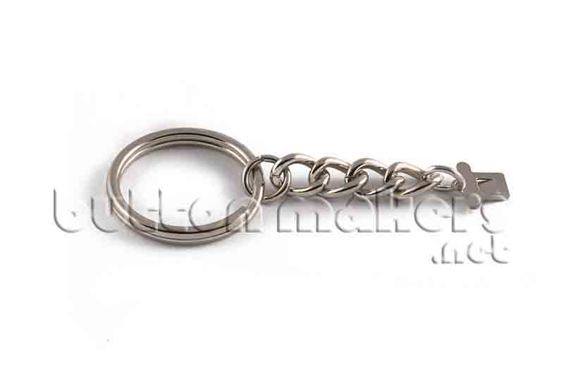 100 x Chain Style Key Chain Only 2-1/4 inch