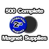 500 x Magnet Supplies 2-1/4 inch