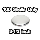 100 x Shells Only 2-1/2 inch