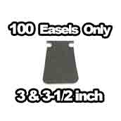 100 x Easels Only 3 inch