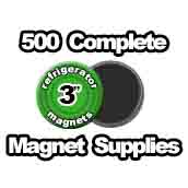 500 x Magnet Supplies 3 inch