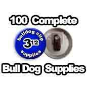 100 x Bulldog Clip Supplies 3-1/2 inch