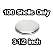 100 x Shells only 3-1/2 inch