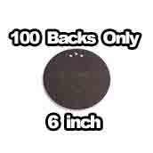 100 x Flatback Only 6 inch