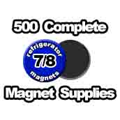 500 x Magnet Supplies 7/8 inch