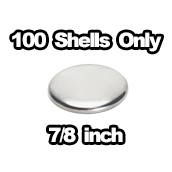 100 x shells only 7/8 inch