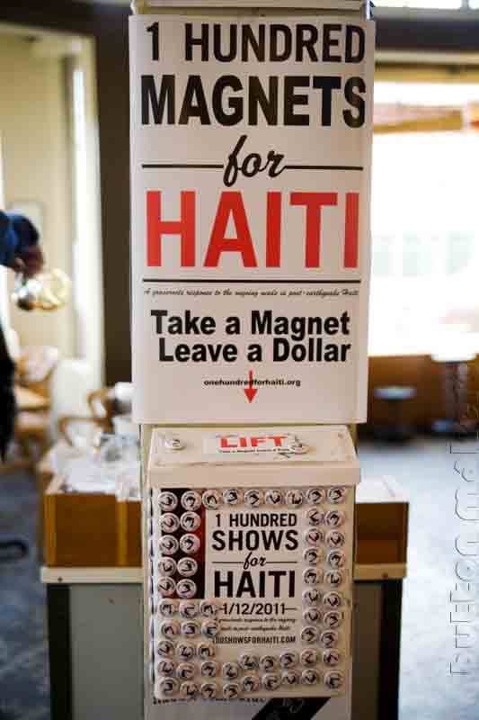 100 Magnets for Haiti