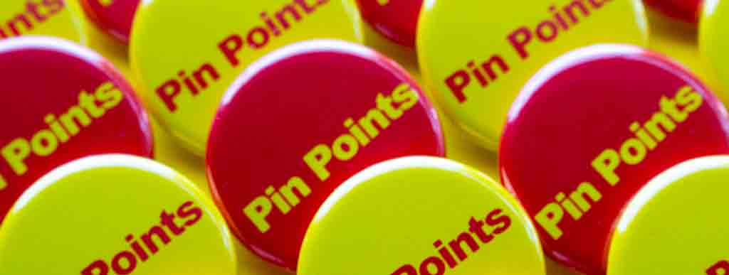 Pin Points - Earn a Free Button Maker