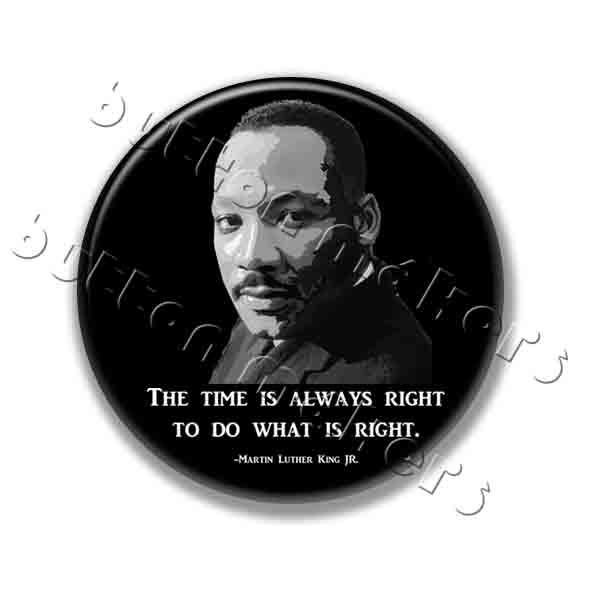 Printable Button Art  - Martin Luther King Jr.