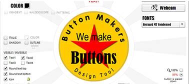 Button Design Software