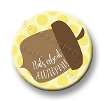 Printable Button Art  - Nuts About Autumn