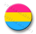 Printable Button Art  - Pride Flag - Pansexual