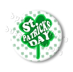 Printable Button Art  - Shamrock
