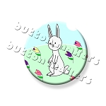 Printable Button Art  - Easter Bunny