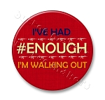 Printable Button Art  - #Enough