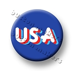 Printable Button Art  - USA