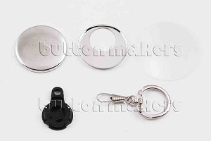 1,000 x Key Chain Snaphook Supplies 1-1/2 inch