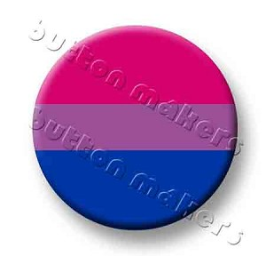 Printable Button Art  - Pride Flag - Bisexual