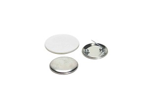 100 x Pinned Back Button Supplies 1-1/2 inch