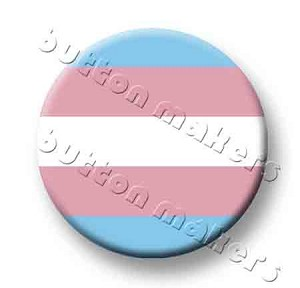 Printable Button Art  - Pride Flag - Transgender